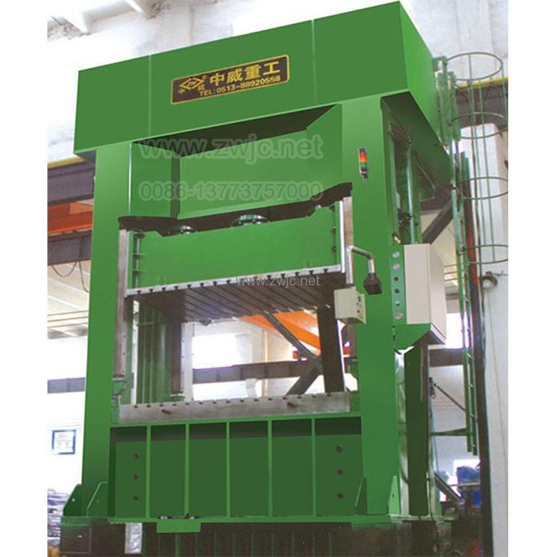 YZW27 Single movement deep drawing hydraulic press