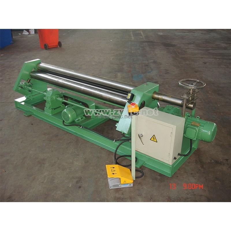 Mechanical assymmetric rolling machine