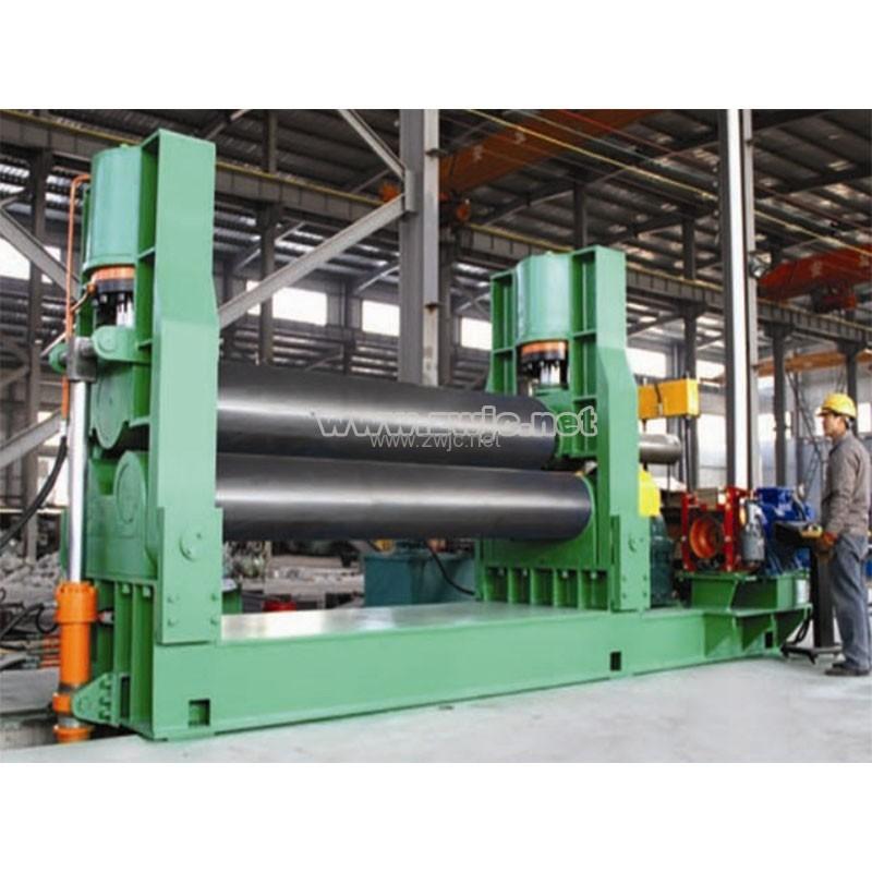Hydraulic symmetrical plate rolling machine