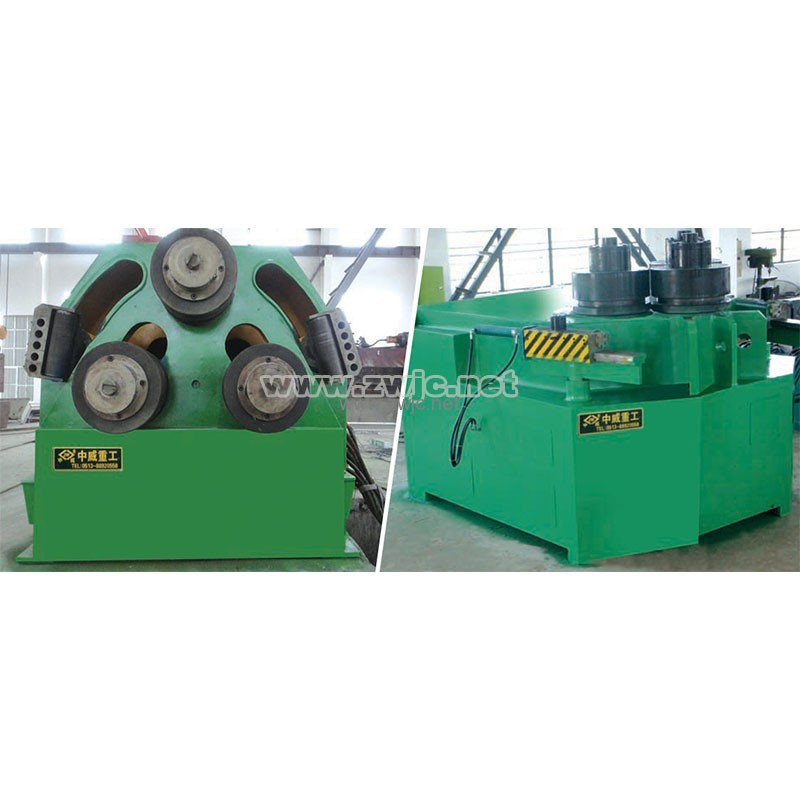 Hydraulic section bending machine