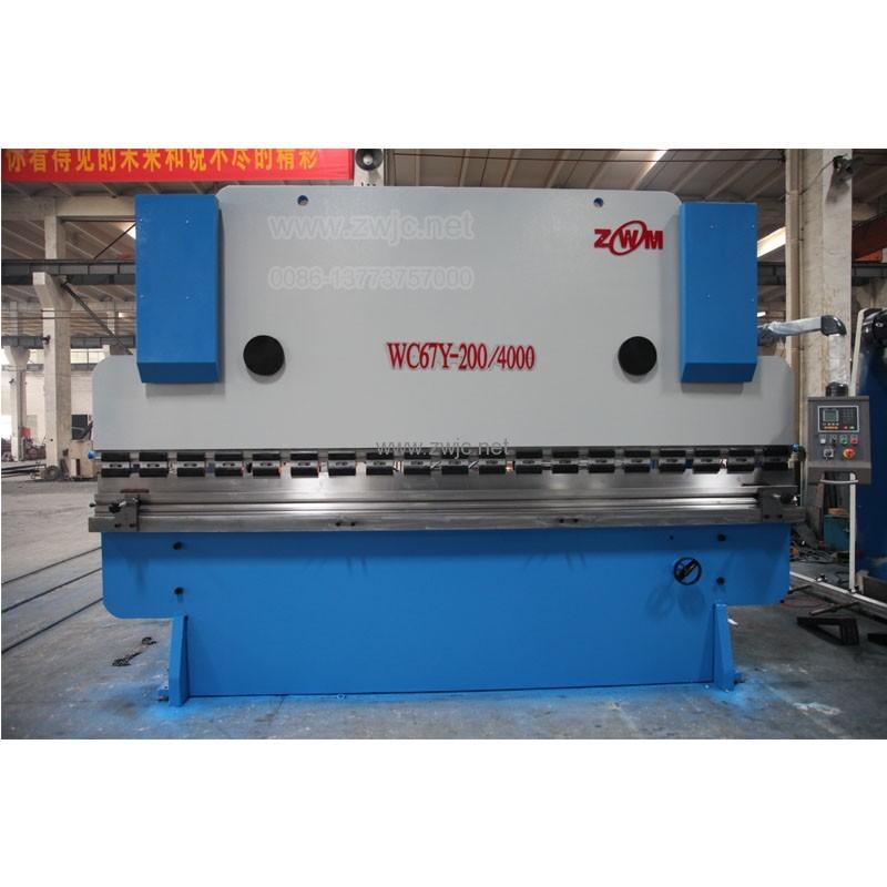 WC67Y hydraulic press brake