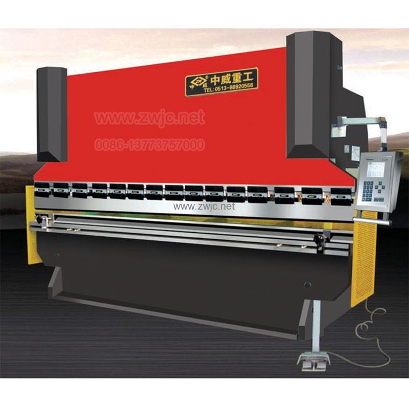 WC67K torsion bar CNC press brake