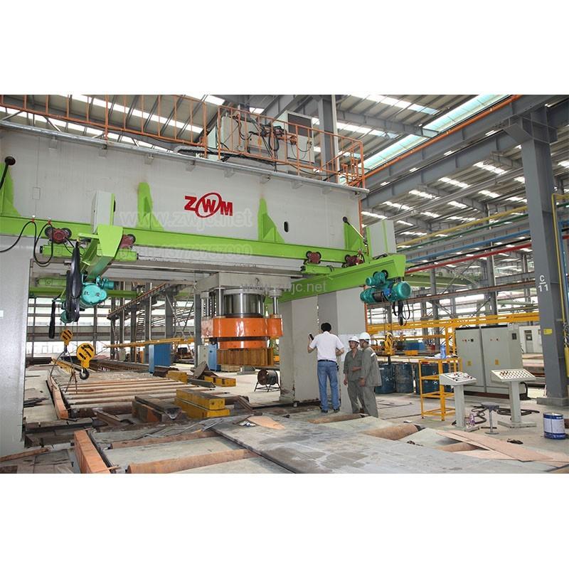 YZW34 Large gantry hydraulic press