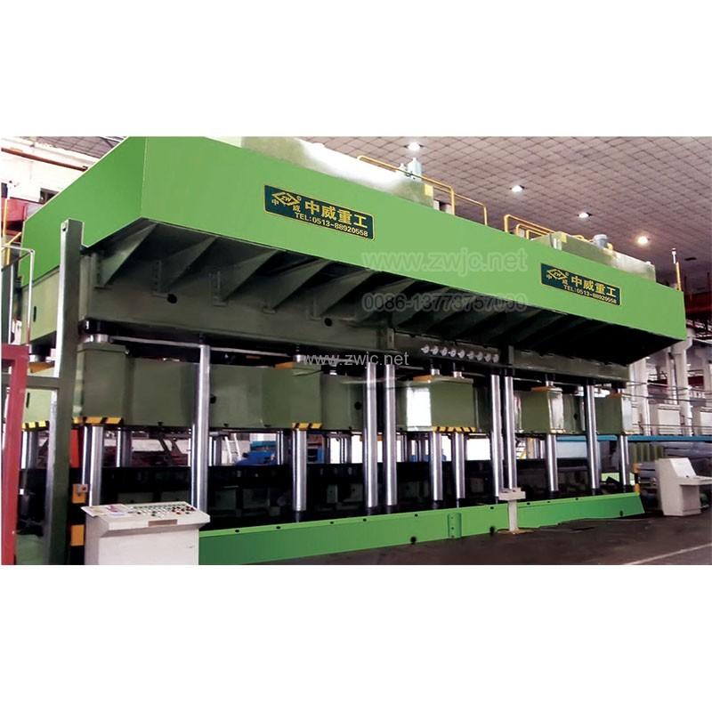 YZW087 Automobile frame molding hydraulic press