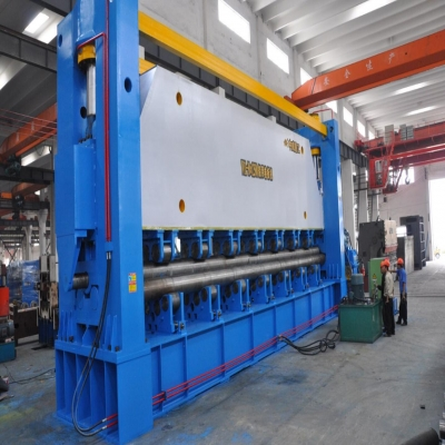 ZHONGWEI MADE Heavy Duty Rolling Machine 30x12500mm in normal use for 10 years