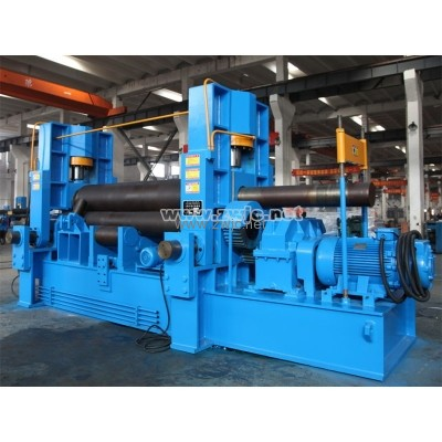 Upper roller univeral plate rolling machine