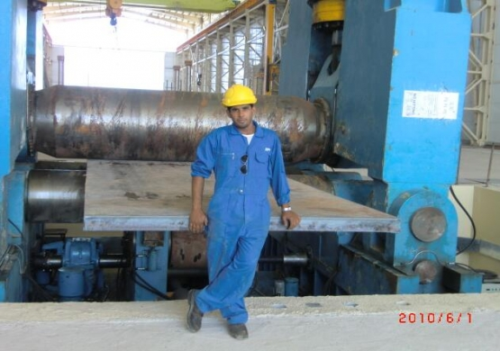 ZHONGWEI MADE Heavy Load Rolling Machine 150x3000mm For Iran Nuclear Company Under Use